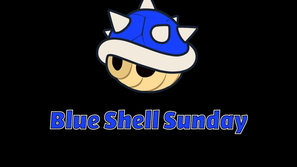Blue Shell Sunday logo