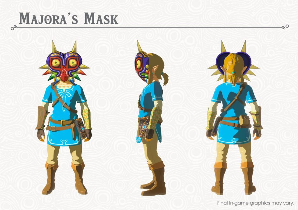 Majora's Mask in Breath of the Wild