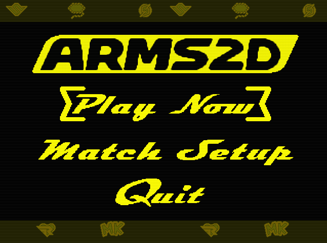 ARMS 2D Title