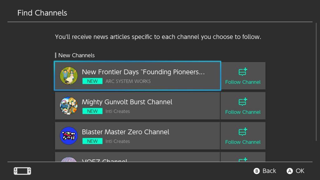 Choose Channels
