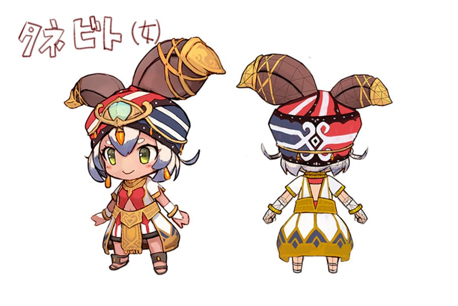 Ever Oasis Character Art 6