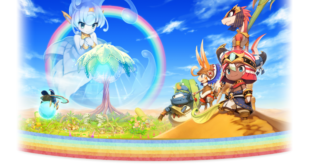 Ever Oasis Concept Art 1