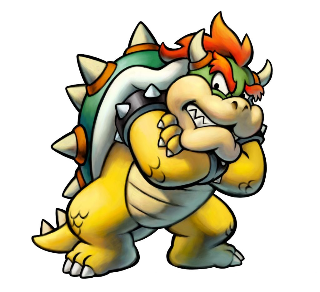 Mario & Luigi Remake Bowser Artwork