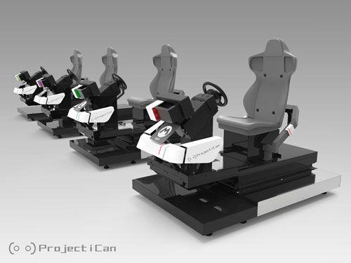 Mario Kart Arcade VR Cabinets