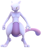 Mewtwo in Pokemon GO