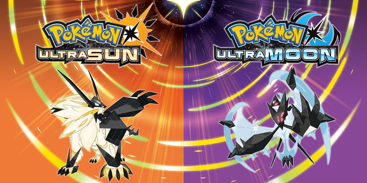 Pokemon Ultra Sun Moon Artwork