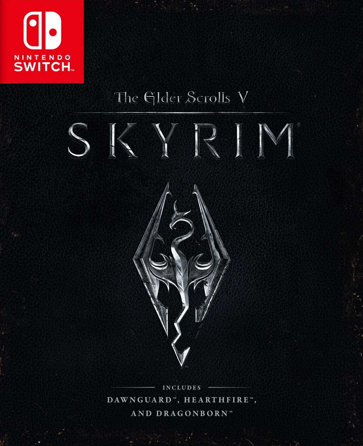 Skyrim Switch Box Art