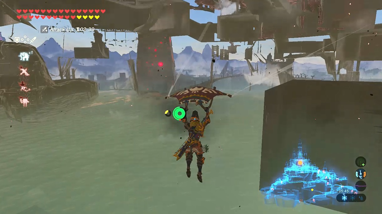 breath of the wild glitch