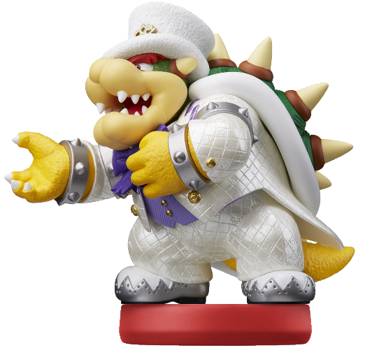 Bowser Wedding Amiibo