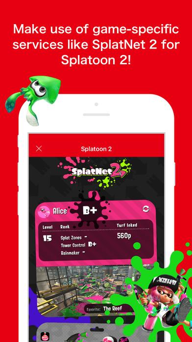 Nintendo Switch App SplatNet