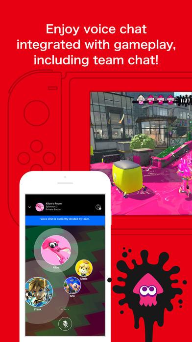 Nintendo Switch App Voice Chat