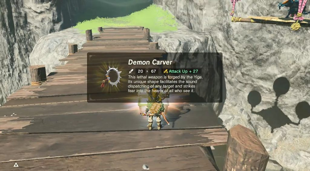 Overpowered Demon Carver