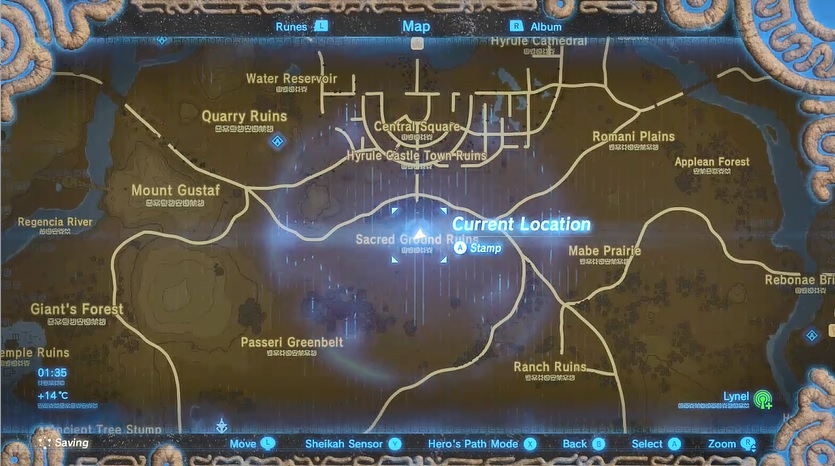 Phantom Armour Map Location