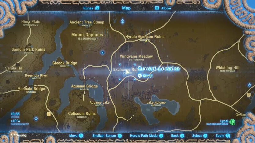 Tingle's Hood Map Location