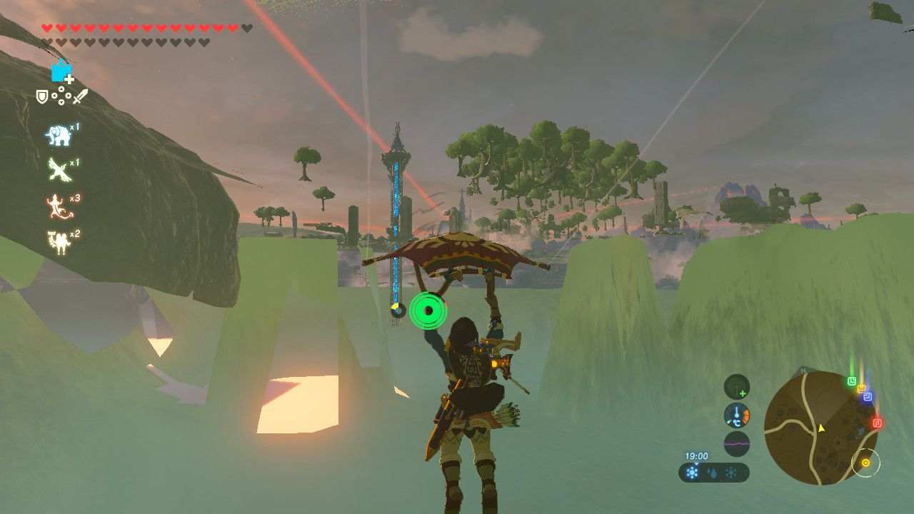 Underneath Sheikah Tower