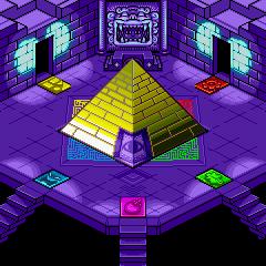 Wario Land 4 Pyramid Map