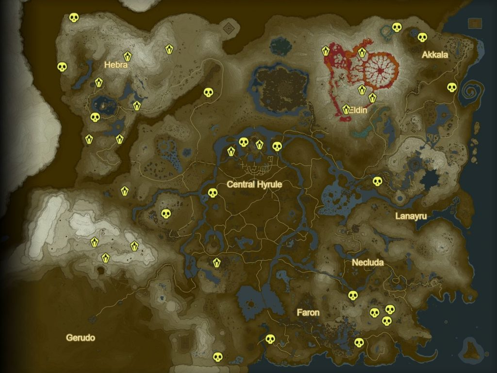 Working Boss Locations Map