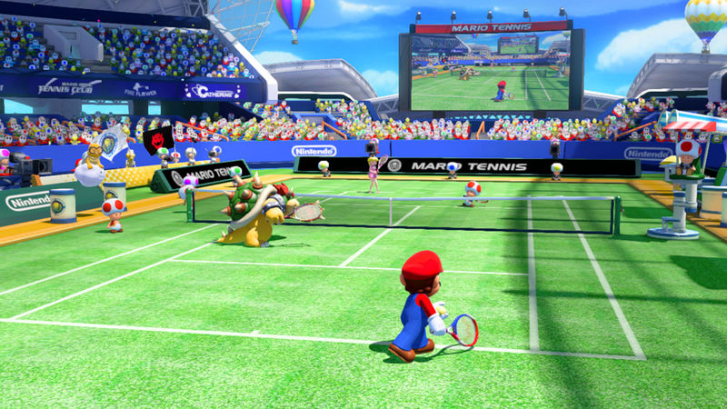 Mario Tennis Ultra Smash Screenshot