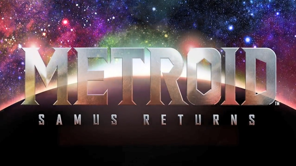Metroid Samus Returns Title