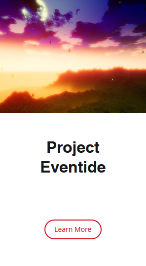A picture of the mysterious Project Eventide