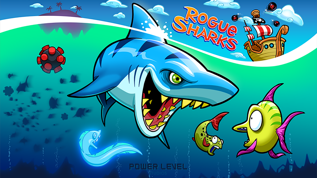 Rogue Sharks Arcade Picture