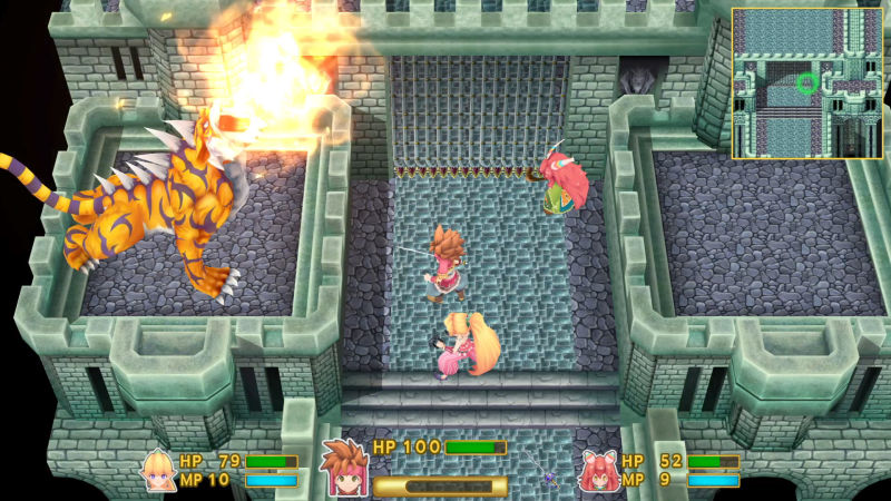 Secret of Mana Remake Screenshot 1