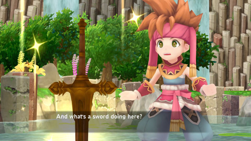 Secret of Mana Remake Screenshot 2