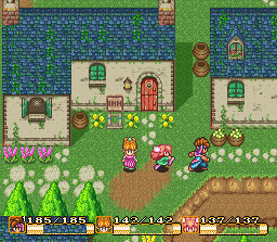 Secret of Mana SNES Screenshot