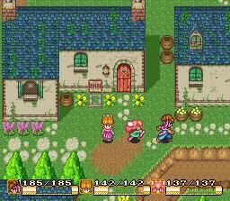 Secret of Mana SNES Screenshot