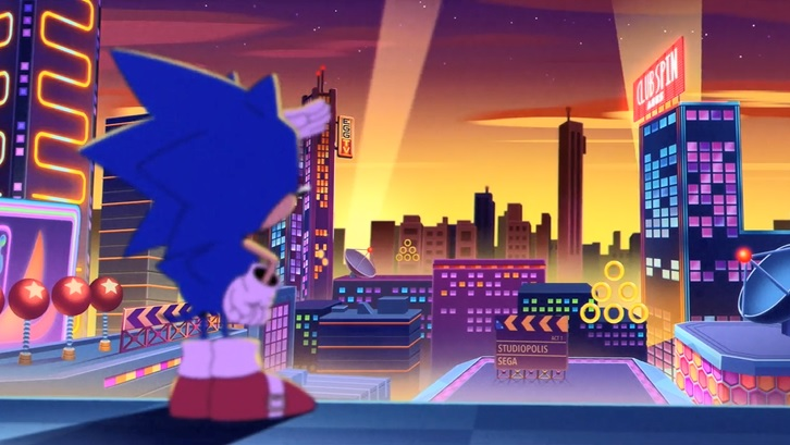 Sonic Mania Opening