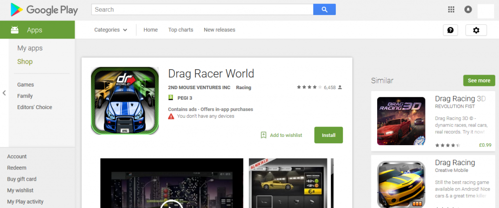 Drag Racer World Picture
