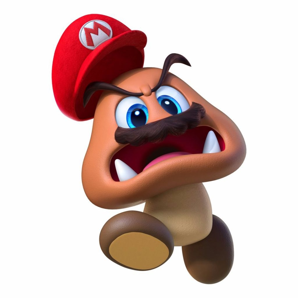 Captured Goomba