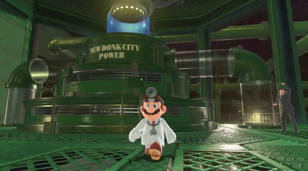Dr Mario costume