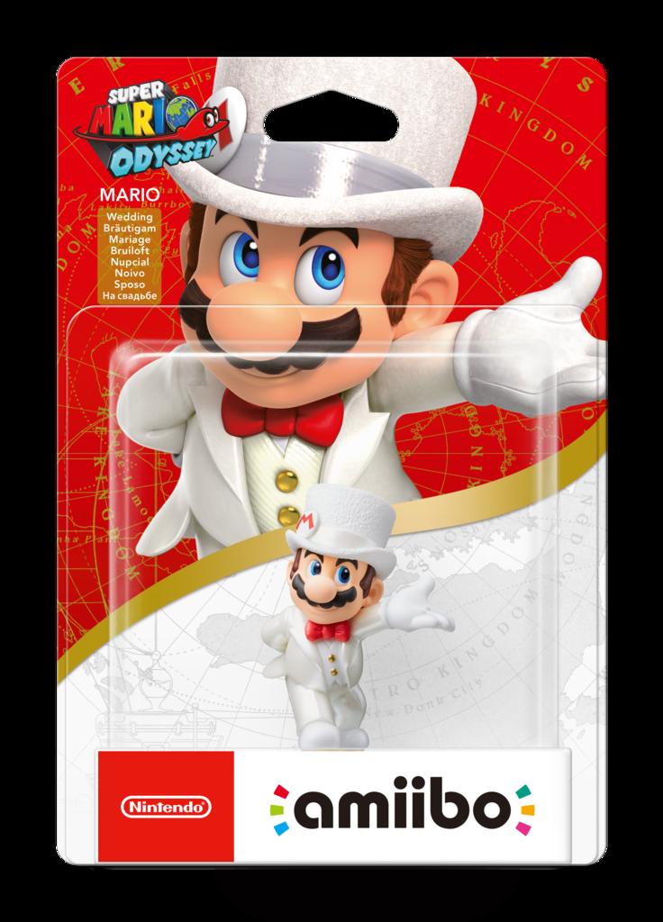 Mario Odyssey Amiibo