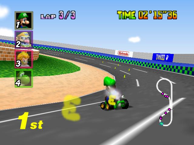 Mario Kart 64 Picture