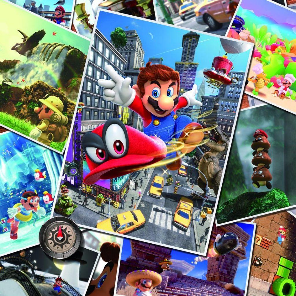 Mario Odyssey Postcards 2
