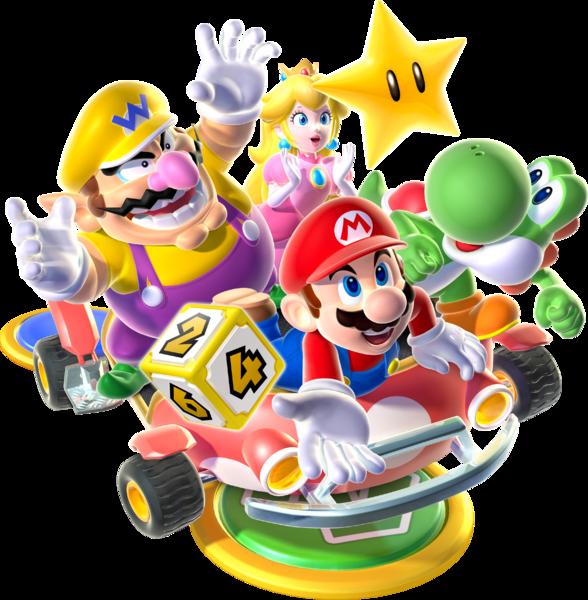 Mario Party 9 Car