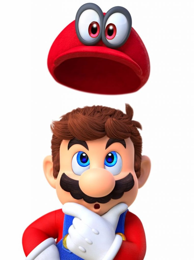 Mario with hat 2