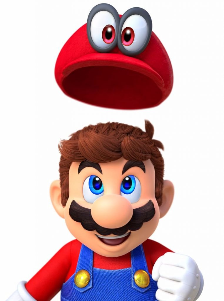 Mario with hat 1