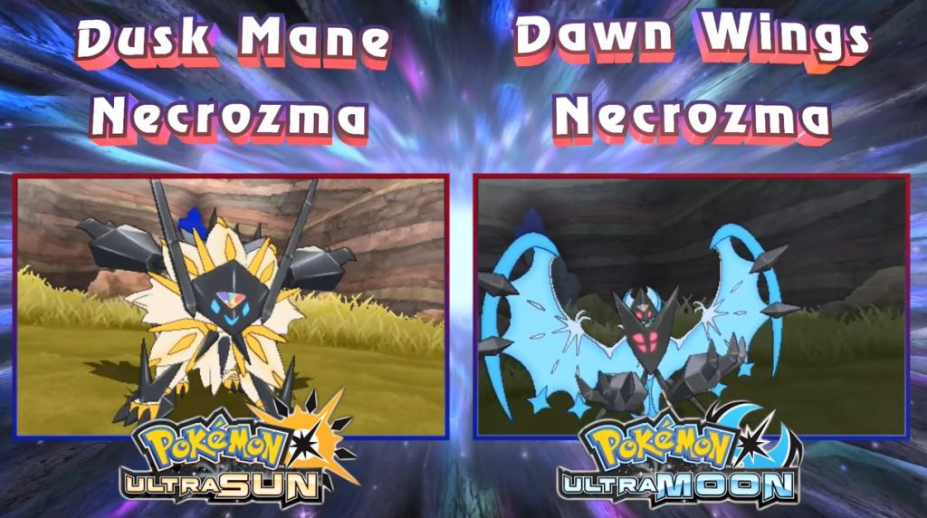 New Necrozma Forms