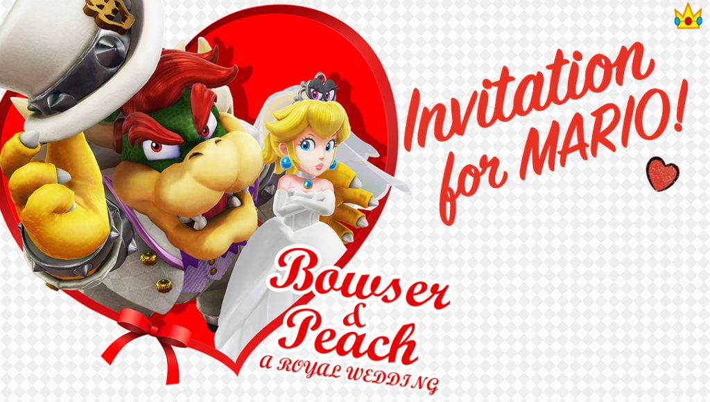 Peach's Wedding Invitation