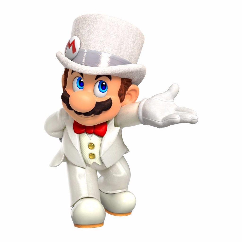 Wedding Mario