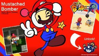 Super Mario Odyssey/Bomberman Crossover