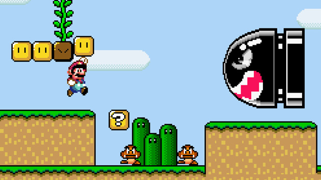 Mysterious Super Mario World Picture