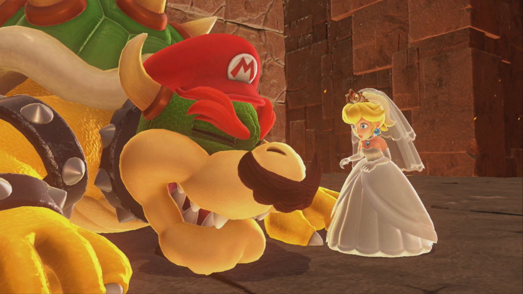 Playable Bowser