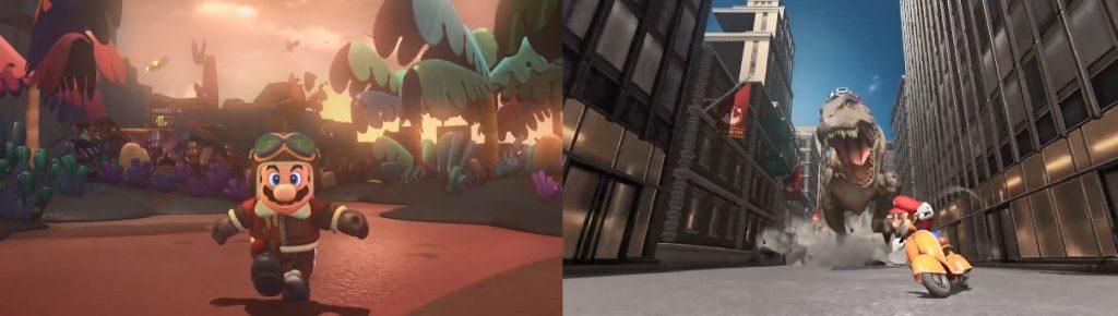 Mario T Rex Compare