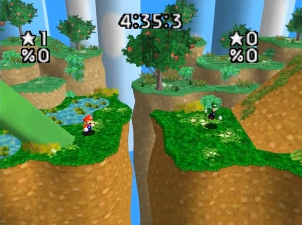 Super Smash Bros 2d