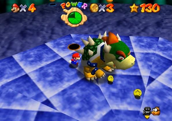 Portal Mario 64