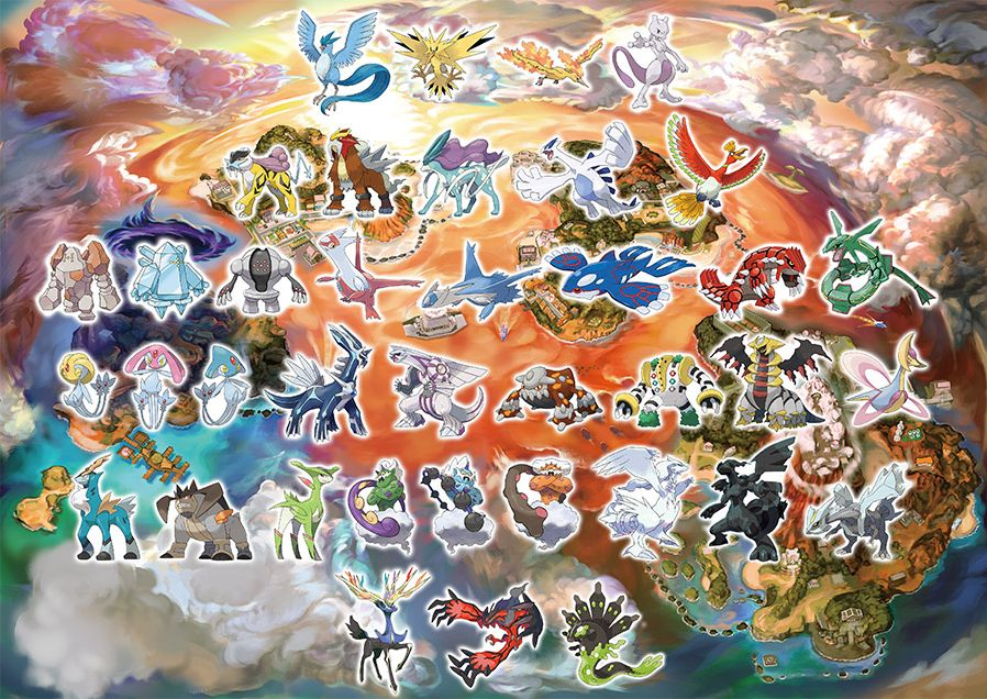 Pokémon Ultra Sun and Ultra Moon Legends