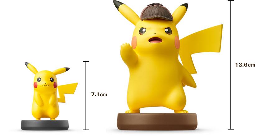 Detective Pikachu Amiibo Comparison